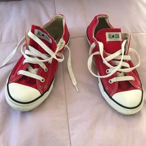 Red Chuck Taylors